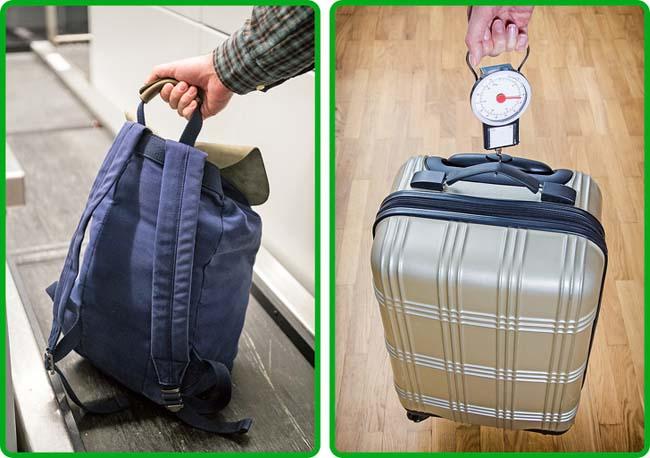 Trả tiền cho hành lý quá cân