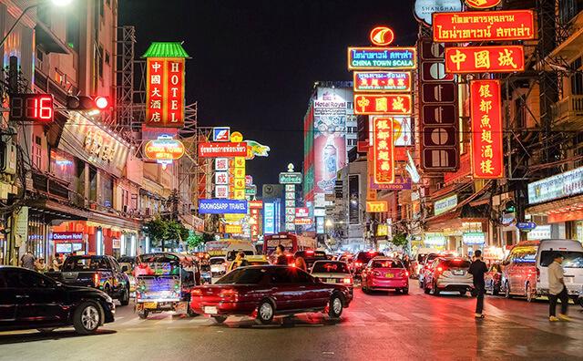 ChinaTown tại Bangkok là khu phố Tàu lớn nhất tại Châu Á