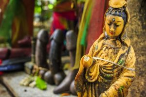 Kỳ lạ với đền thờ dương vật Chao Mae Tuptim tại thủ đô Bangkok