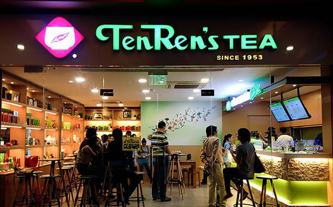 Quán trà sữa Ten Ren, Đài Loan