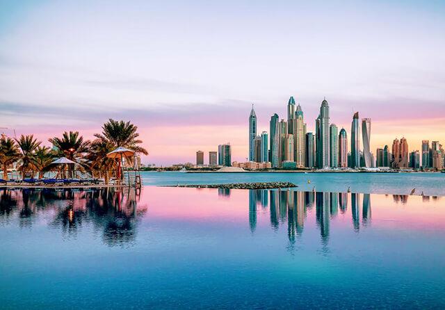 Thời gian lí tưởng để du lịch Dubai là từ tháng 10 đến tháng 4 sang năm