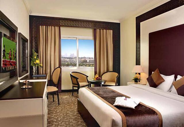 Ở Dubai có các phòng nghỉ hạng từ 3* cho đến phòng xa xỉ bậc nhất hành tinh
