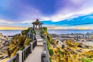 Không thể bỏ qua đảo Hoa Bình khi đi tour Đài Loan