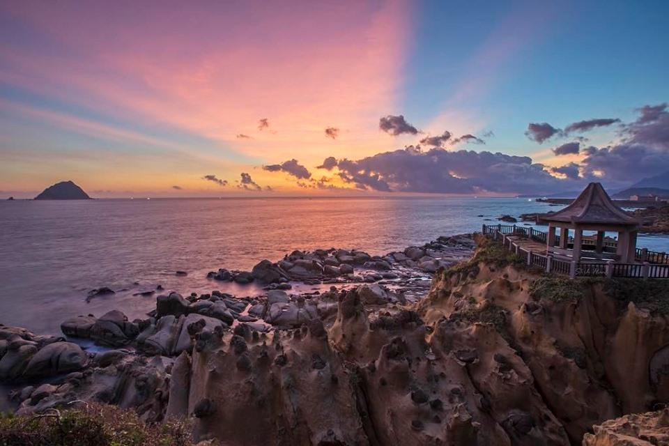 đảo Hoa Bình khi đi tour Đài Loan