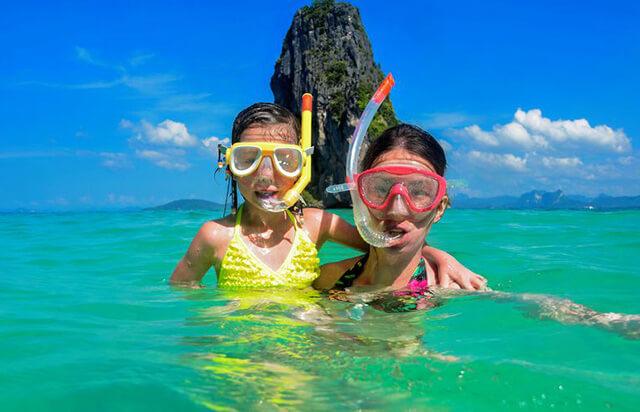 Thời gian lí tưởng để du lịch Thái Lan có con nhỏ là từ tháng 11 đến tháng 2