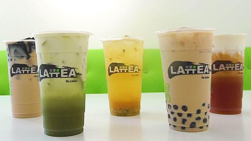 Thưởng thức trà sữa ở Lattea