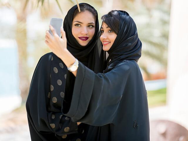 Trang phục abaya truyền thống cho phụ nữ ở Dubai