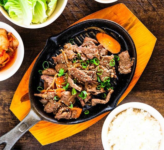 Đi tour di lịch Hàn Quốc tết không thể bỏ qua món Bulgogi truyền thống