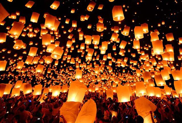 Đi tour du lịch Đài Loan 2019 không thể bỏ qua Lễ hội đăng tiết Nguyên Tiêu, thả đèn và lời cầu nguyện lên trời