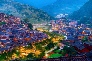 Làng Thiên hộ Miêu Trại – Điểm du lịch hấp dẫn trong tour Quý Châu
