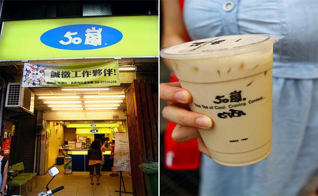 Trà sữa 50 Lan Đài Loan