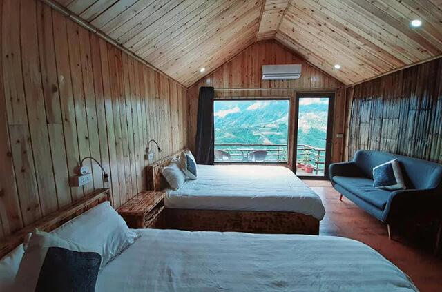 Các phòng ở Valley View được thiết kế bằng kính trong suốt, đem đến cho du khách cảm giác hòa mình vào thiên nhiên