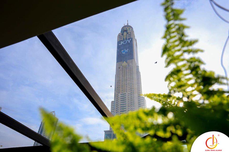 Homestay nằm ở tầng 6 của tòa nhà với diện tích khoảng 60m2