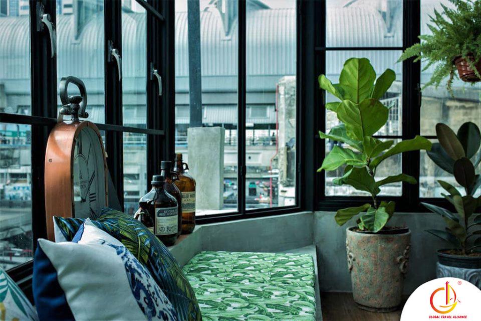 Glass House - Homestay nhà kính chỉ có ở Bangkok, Thái Lan