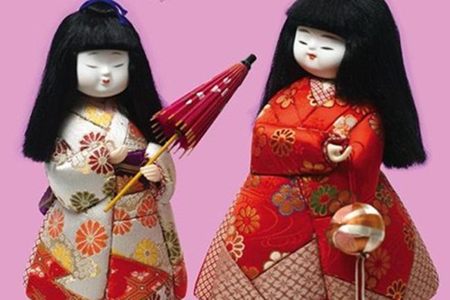 Búp bê truyền thống của Nhật Bản