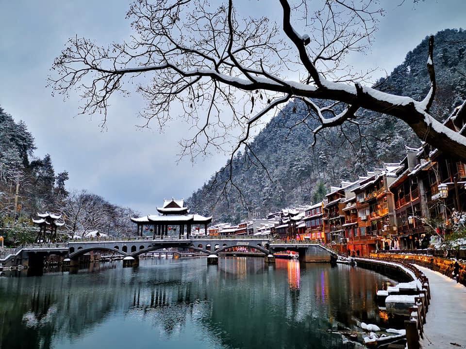 Hãy giữ ấm khi tuyết đầu mùa rơi