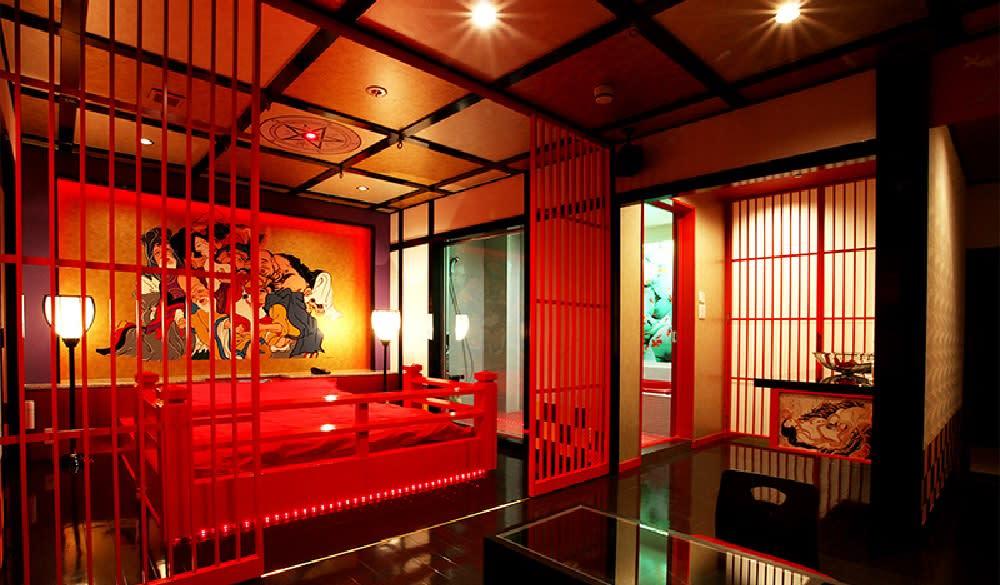 Phòng khách sạn truyền thống ở Nhật Bản