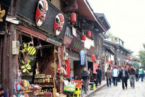 ĐếnTrùng Khánh để thăm Ciqikou Old Town China