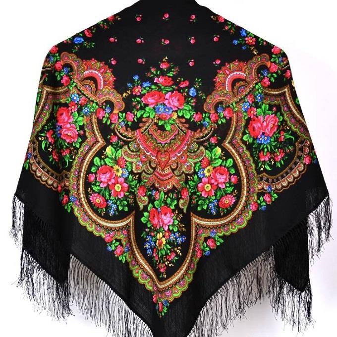 khăn choàng Pavlovo-Pasad