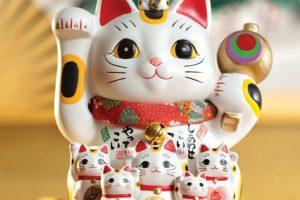 Chú mèo may mắn Maneki Neko Nhật Bản
