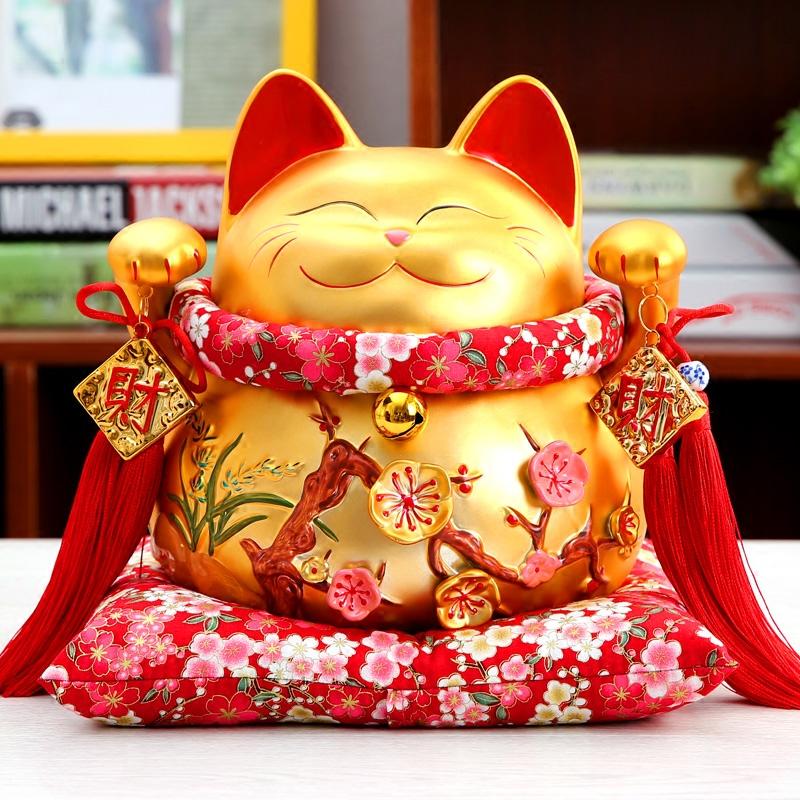 Hình ảnh chú mèo Maneki Neko vẫy tay có ý nghĩa gì?