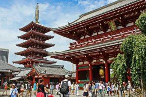 Khám phá chùa Asakusa Kannon linh thiêng khi đi tour Nhật Bản