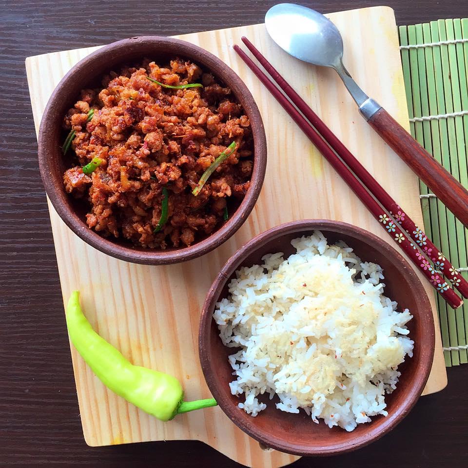Cơm thịt băm nhỏ Đài Loan