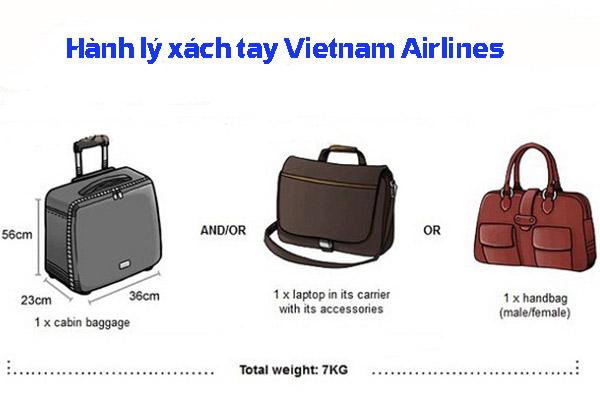 Hành lý xách tay (7kg/ người, gọn, nhẹ)