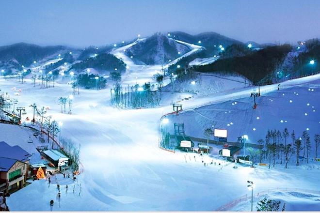 Khám phá khu trượt tuyết Yangij Pine, Hàn Quốc
