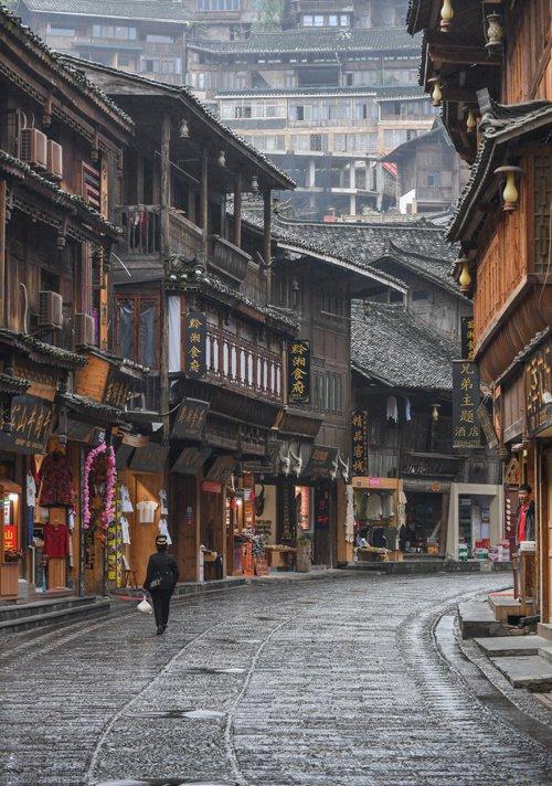 Kiến trúc nhà tại làng Thiên hộ Miêu trại, Quý Châu