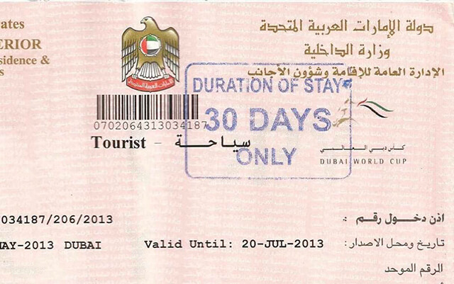 Chuẩn bị hồ sơ cẩn thận khi xin visa du lịch Dubai