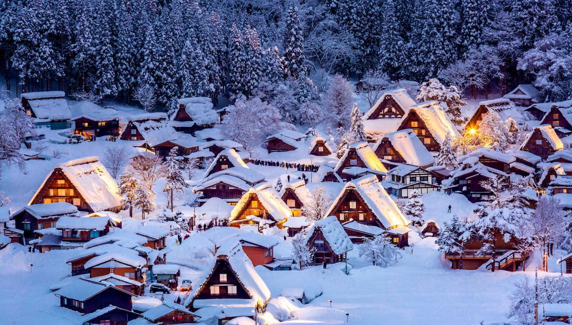 Ngôi làng Shirakawago