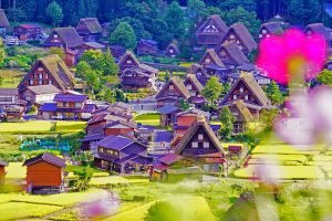 Đẹp như tranh khi đến thăm ngôi làng Shirakawago, Nhật Bản