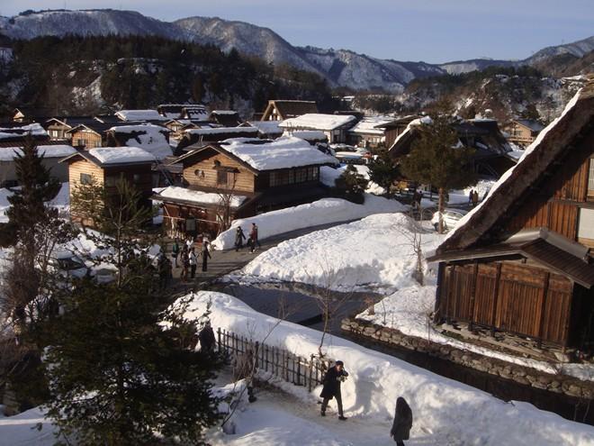Làng Shirakawa – go