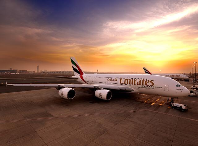 Hãng bay Emirates 5 sao cung cấp đường bay thẳng đến Dubai