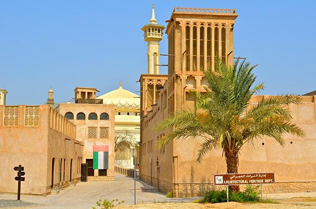 Khu phố cổ Bastakyah tại Duabai được xây dựng từ cuối thế kỷ 19