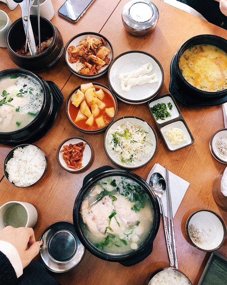 Ăn uống ở Hàn