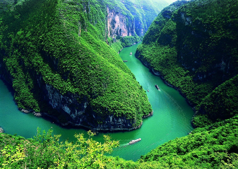 dòng sông Dương Tử đẹp nhất Châu Á