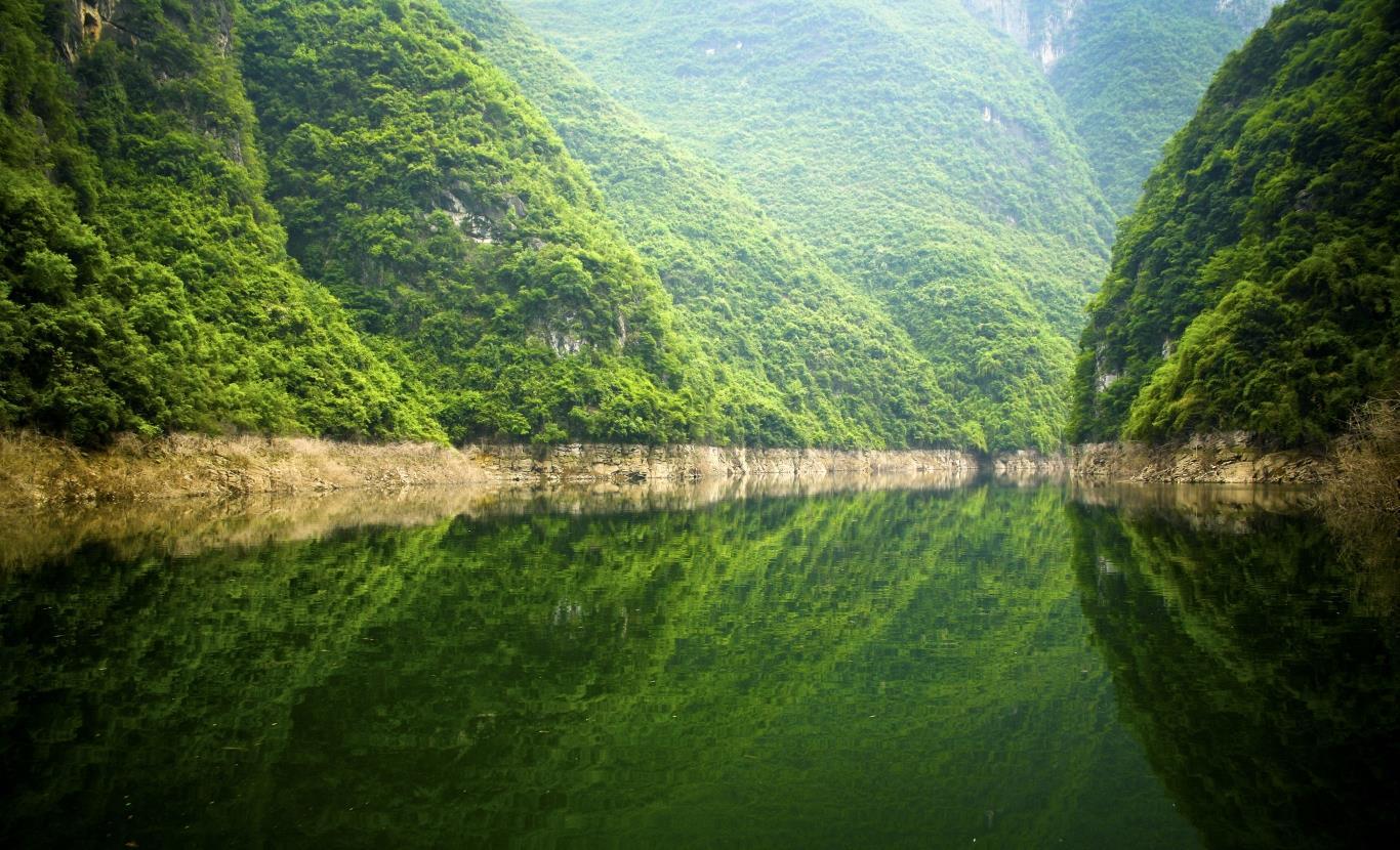 Vẻ đẹp dòng sông Dương Tử