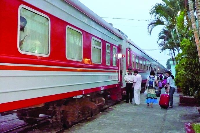 tàu hỏa chặng từ Nam Ninh đến Trương Gia Giới