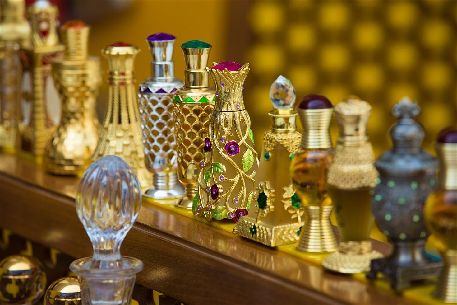 Các loại tinh dầu Dubai
