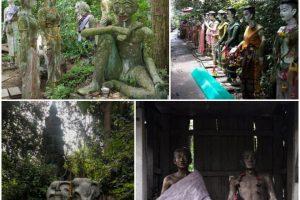 Những bức tượng được làm từ tro cốt người ở Thái Lan
