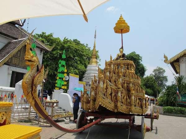 lễ hội Inthakin ở Thái lan