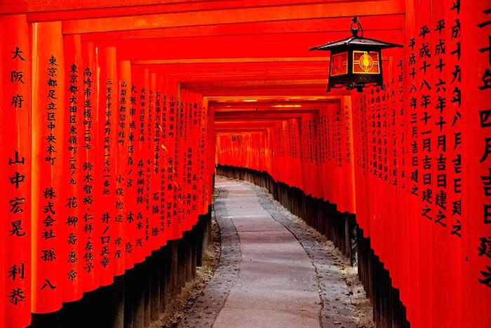 ngôi đền Fushimi Inari Taisha