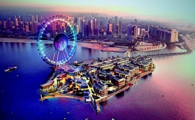 Công trình đu quay The Dubai Eye khổng lồ có độ cao tới 201m.