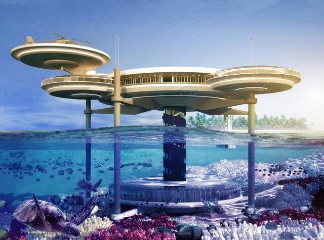 Khách sạn dưới nước Dubai Discus cực kỳ kỳ công và đắt đỏ.