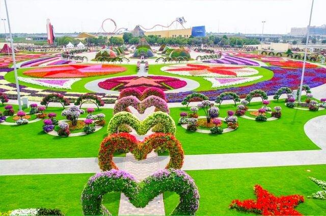 Vườn hoa diệu kỳ Dubai