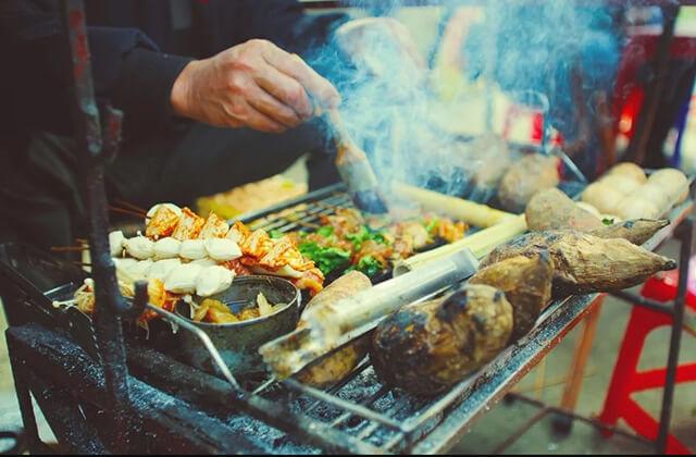 Đi tour du lịch Sapa tháng 12 đừng quên thưởng thức những món nướng thơm ngon nức nở