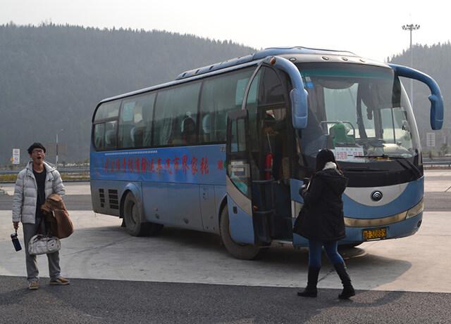 xe bus đến Phượng Hoàng cổ trấn