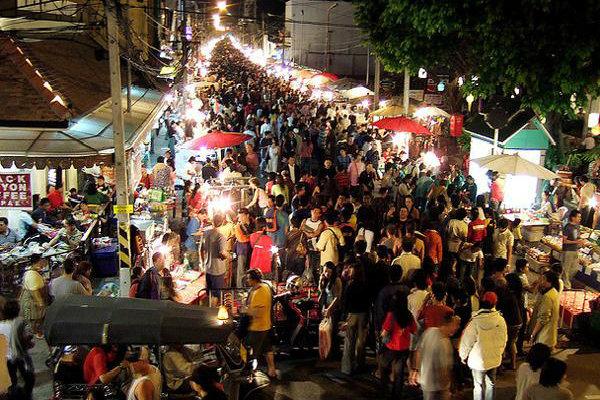 Khu phố đi bộ Chiang Mai